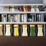 kitchen organizing   organized kitchen