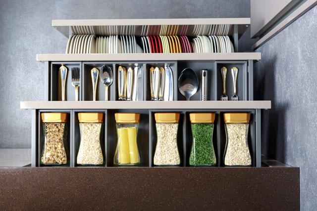 kitchen organizing | organized kitchen